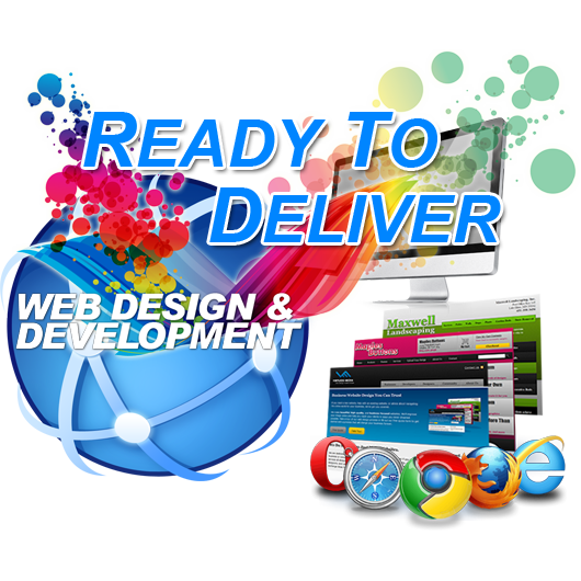Ready to deliver static web Page Design