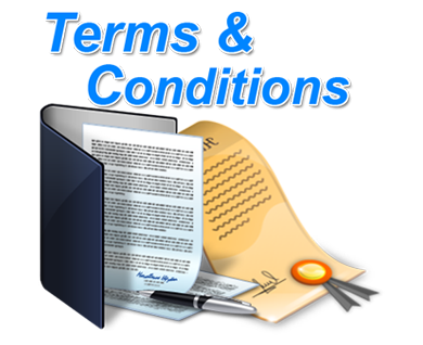 Charges terms and conditions