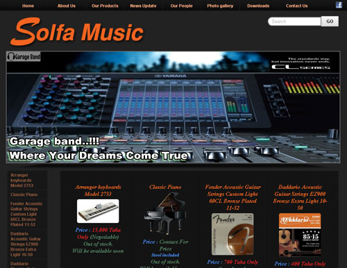 Solfa Music Website