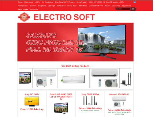 Electro Soft Website